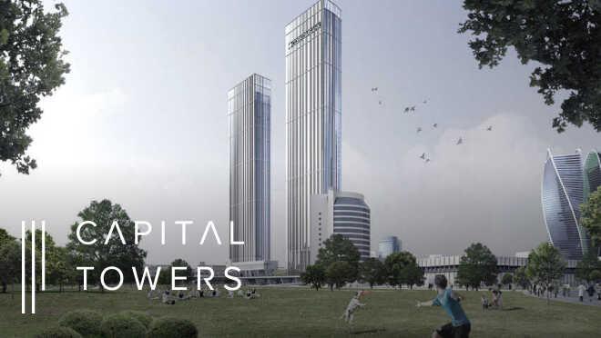 Квартиры в стильных небоскребах в 500 м от Сити Премиальный проект в ЦАО. Панорамные